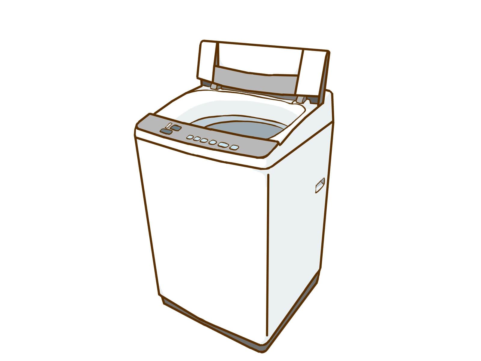 縦型洗濯機 図