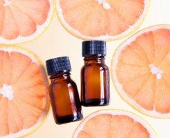 グレープフルーツ果皮油 化粧品原料 イメージ図