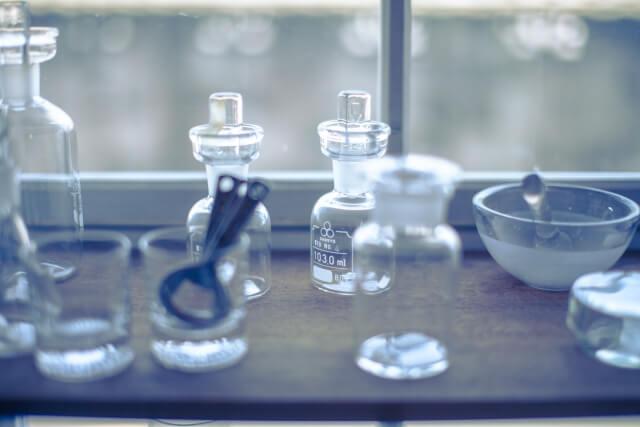 化学成分(例えば化粧品成分)の安全性のイメージ図