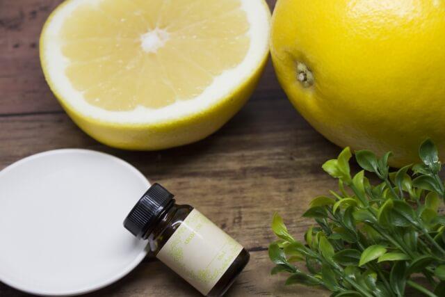 グレープフルーツ 精油に含まれている成分ヌートカトン イメージ図